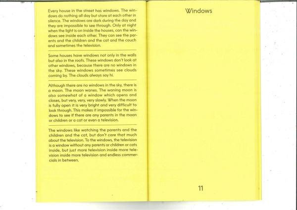Windows In: The Name of the Sun is Yellow - a collection of short stories by Martijn in't Veld